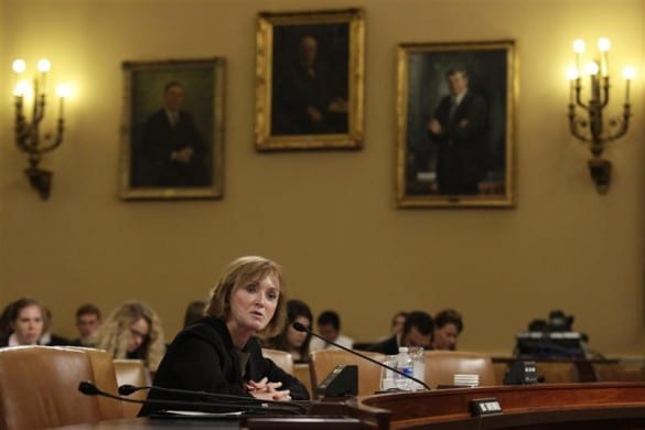 Marilyn Tavenner, administrator of the Centers for Medicare & Medicaid Services, testifies before Congress.