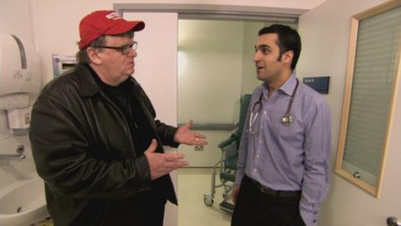 Michael Moore and doctor