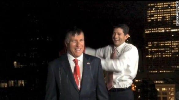 Paul Ryan Mitt Romney ice bucket