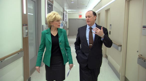 steven brill and lesley stahl