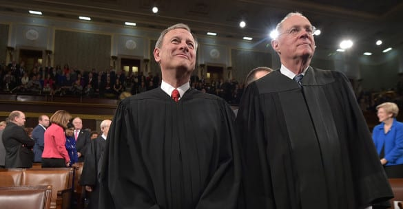 The latest Obamacare case hinges on these two justices: John Roberts and Anthony Kennedy
