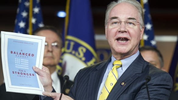 Republican Rep. Tom Price, chair of the House Budget Committee.