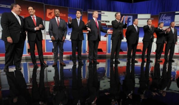 first Republican debate 2016